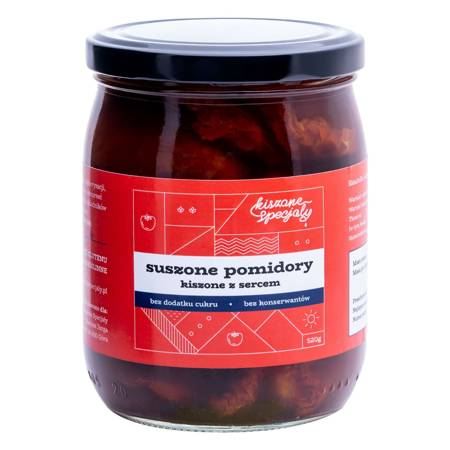 Kiszone suszone pomidory 520g
